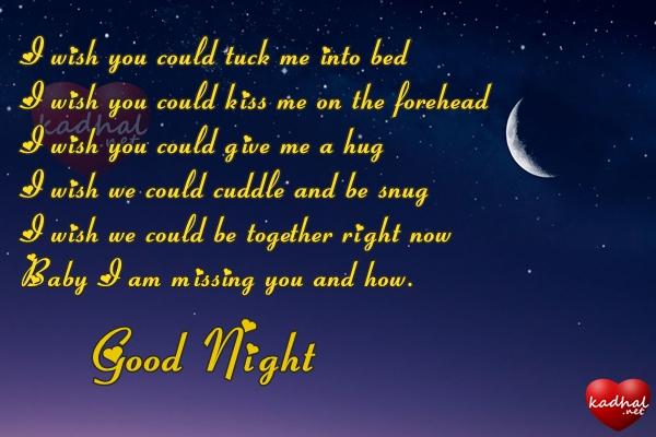 Good Night Poem for Girlfriend